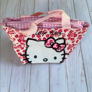 Cute Hello Kitty makeup bag